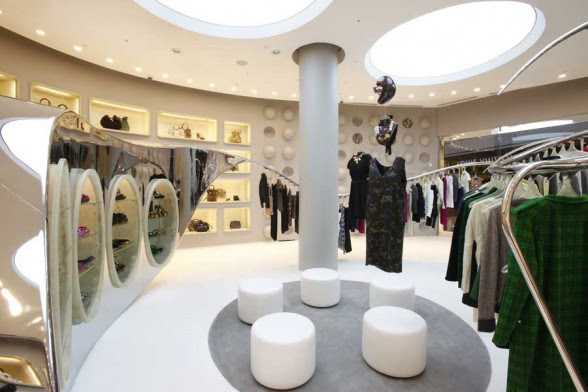Marni Boutique Interior Design in Las Vegas