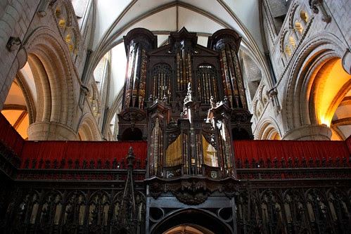 Organ at Gloucester Cathedral