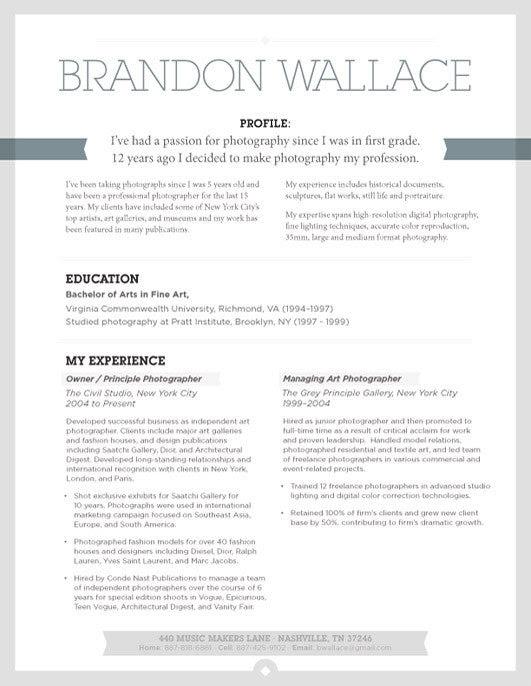 Best Resume Examples Online  Loft Resumes