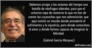 Gabriel Garcia Marquez La Vida No Es La Que Uno Vivio Sino La Que