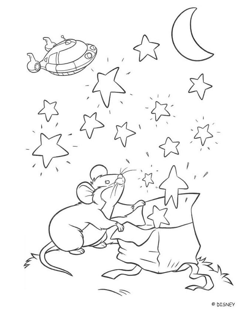 Kleine Maus Kleine Einsteins zum Ausmalen