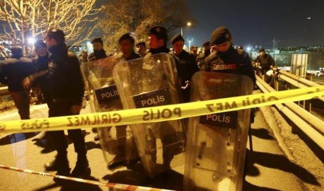 Hình ảnh Ga Thổ Nhĩ Kỳ bị đánh bom vào giờ cao điểm số 1
