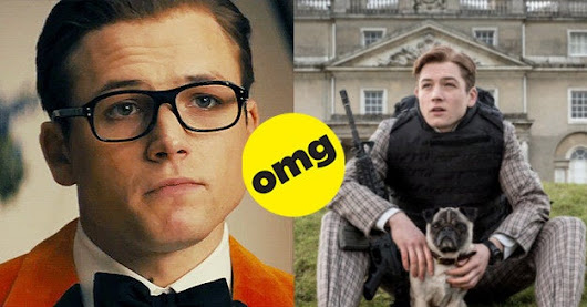 FYI, Taron Egerton Is Hot As Hell And He's All Mine