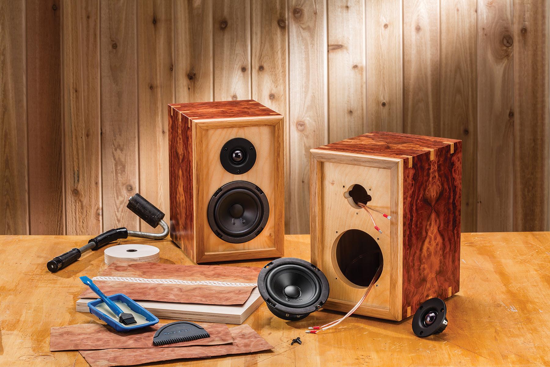 Rockler Introduces DIY Bookshelf Speaker Kits - Users ...