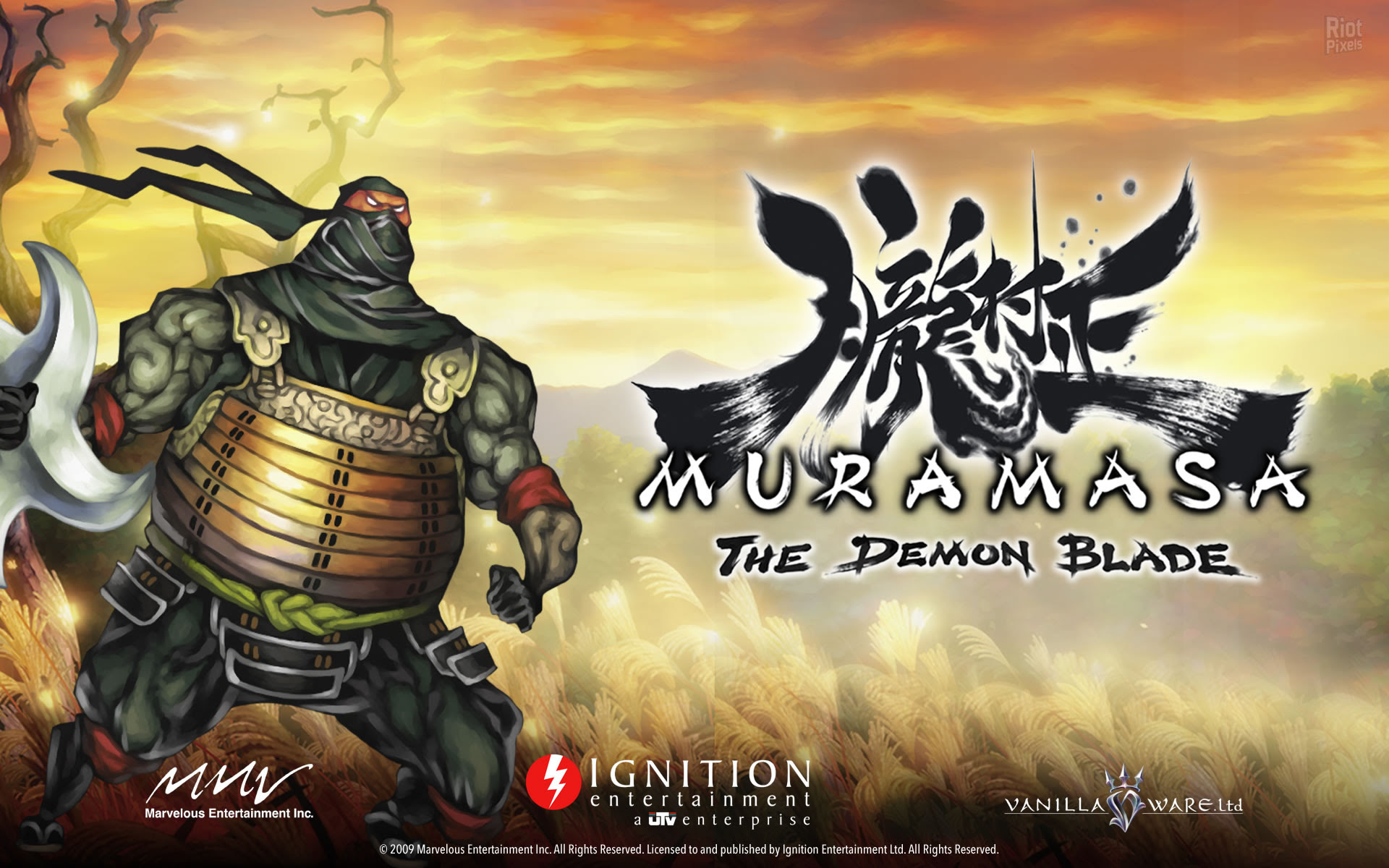 Muramasa The Demon Blade Game Wallpapers At Riot Pixels Images