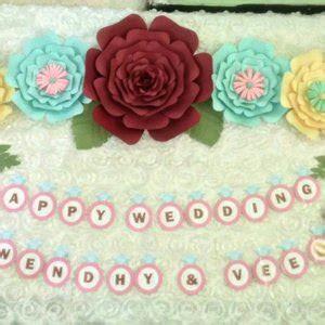jual paper flower paket   lapak shakeelapaperflower
