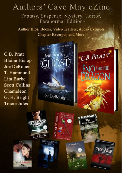 May Fantasy, Suspense, Mystery, Horror