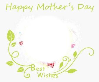 Photo Montage Happy Mothers Day Round Frame Pixiz