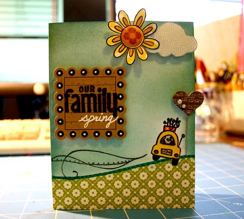 Lily Pad Cards Embossing Challenge by LuvThisScrap