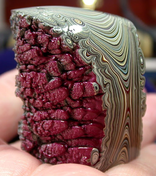 Fordite: a rare mineral only found in old Detroit auto-painting facilities