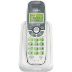 VTech CS6114 DECT 6.0 Cordless Phone with Caller ID/Call Waiting, 1 Handset - White