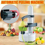 Electric White Stainless Steel Potato Peeler