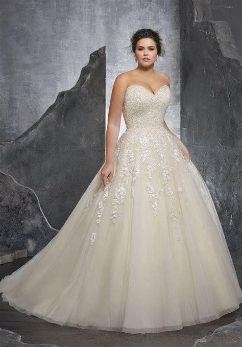 Kasmira Plus Size Wedding Dress   Style 3238   Morilee