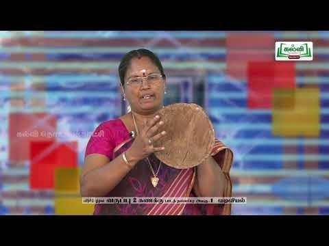 2nd Maths வடிவியல் அலகு 1  Kalvi TV