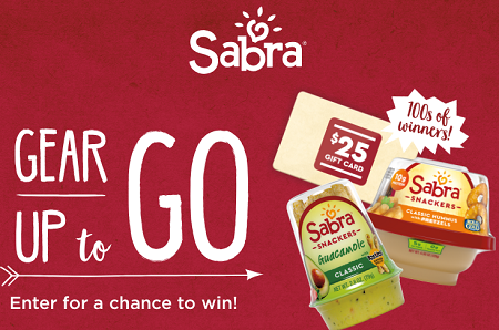 Sabra Gear Up To Go Sweepstakes - Hunt4Freebies