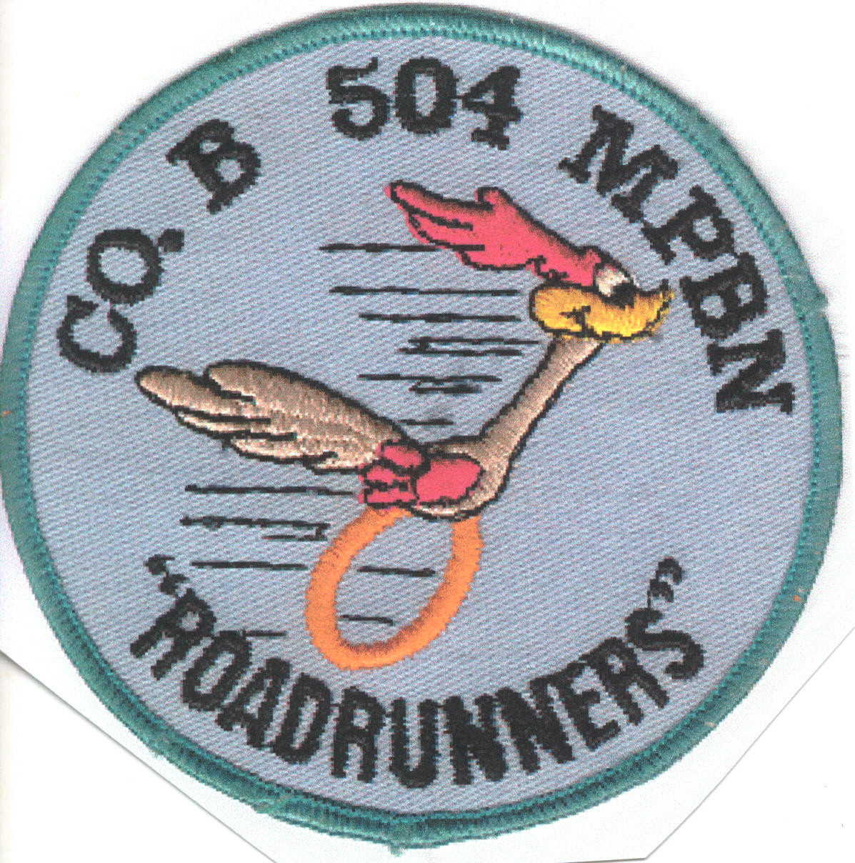Vietnam-era Military Police Roadrunner patch