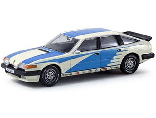 Diecast Model Rover SD1 Vanden Plas in Arum White