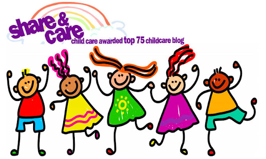 "Share & Care Child Care is one of the ""Top 75 Childcare Blogs"""