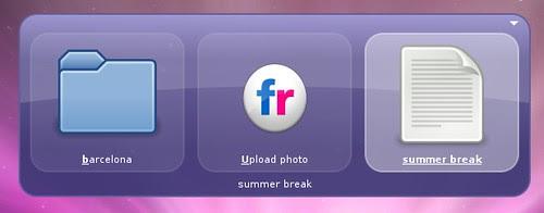 Upload to flickr