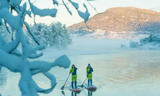Two Paddlers Brave The Cold For A SUP Adventure In Norway | Supconnect.com