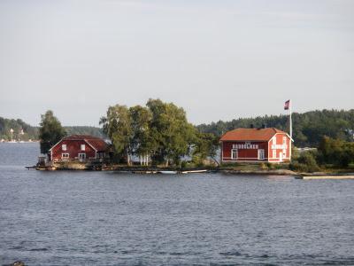 Badholmen.