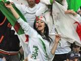 supportrice Algérie  Coupe du Monde 2014