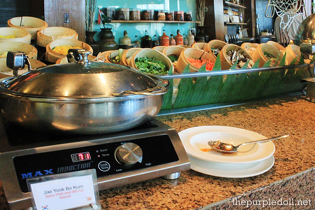 Noodle Section and Jae Yook Bo Kum