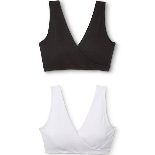 d914ef3316 Lamaze Soft Sleep Womens Maternity Bra - 2-pk. White-Blackm - Google ...
