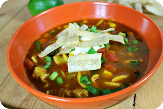 Easy Chicken Tortilla Soup Recipe Made Under 30 Minutes