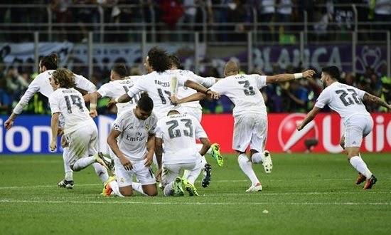 Real vence o Atlético de Madrid e conquista 11ª Champions League