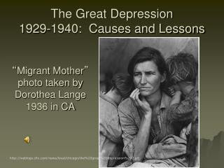 PPT - THE GRRRREAT DEPRESSION, 1929-1940 PowerPoint ...