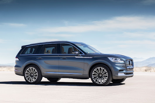Production Lincoln Aviator to Debut in L.A. - Motor Trend