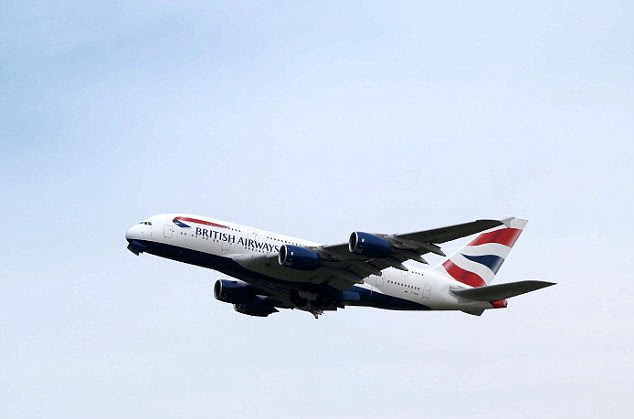After shocked crew reported the video to British Airways (stock image) the airline has launched an investigation