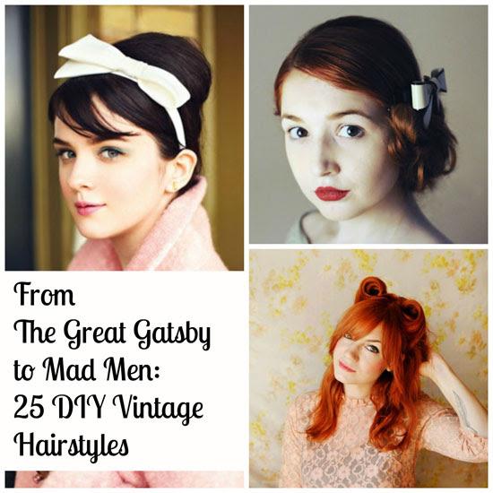 Von Der Große Gatsby Mad Men 25 Diy Vintage Frisuren
