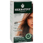 Herbatint Permanent Herbal Haircolor Gel, Dark Golden Blonde 6D - 1 kit, 4.56 fl oz