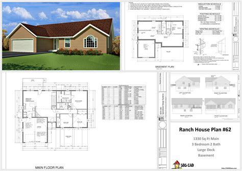 plans plan custom home design autocad dwg