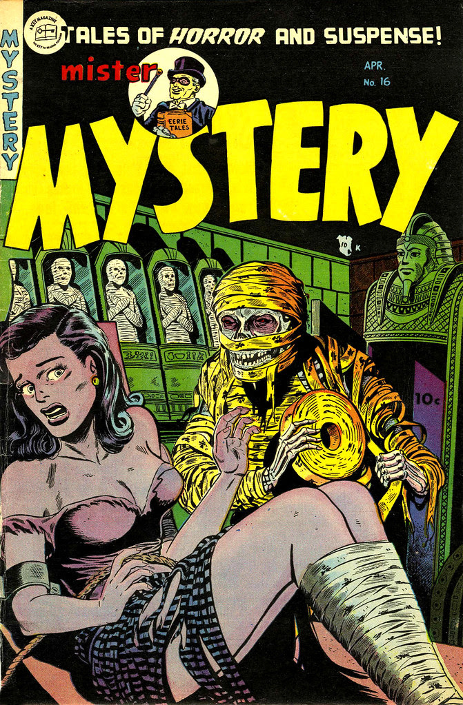 Mister Mystery #16 (Aragon Magazines, Inc., 1954)