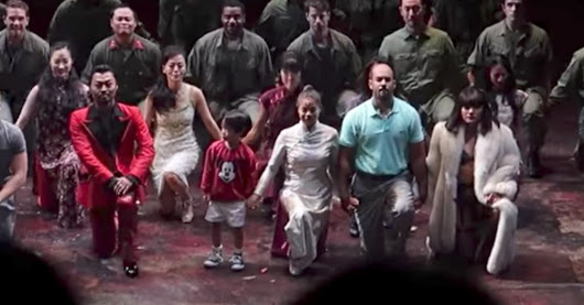 The Cast Of Broadway's 'Miss Saigon' Took A Knee In Solidarity With NFL Players