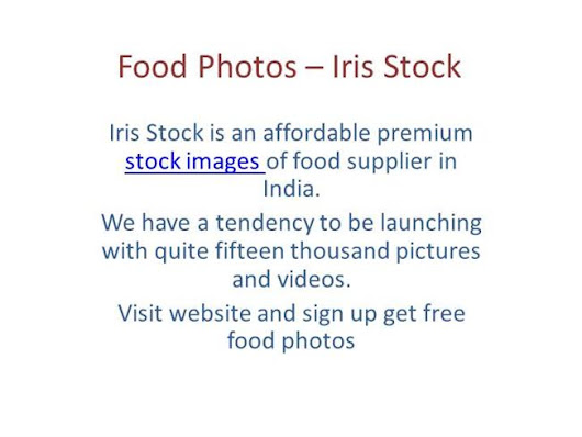 Food Photos – Iris Stock