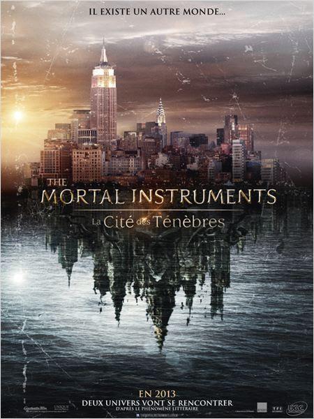 The Mortal Instruments : La Cité des ténèbres : affiche