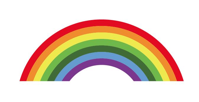 イラレで簡単に虹の作り方 Designers Tips
