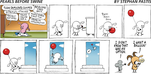 Pearls Before Swine by Stephan Pastis for Nov 12, 2017 | GoComics.com
