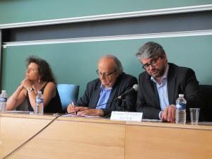 Ninon Grangé, Pascal Texier et Jacques de Saint-Victor aux 34e JHD, Limoges, juin 2015 (photo de Stéphane Boiron)