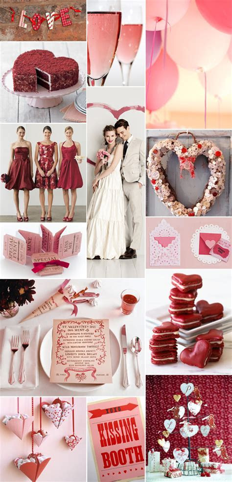Wedding Inspiration: A Heart Themed Valentine's Day