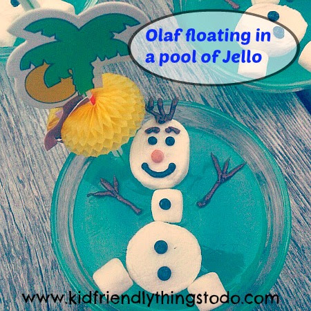 Floating Olaf by Kid Friendly Things To Do