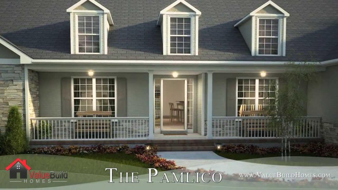 3D Virtual Tour of Pamlico House Plan  YouTube