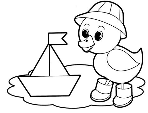 easy coloring pages  coloring pages  kids