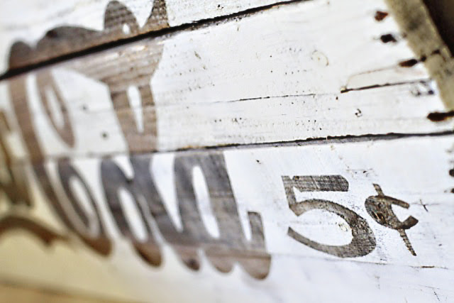 Palette Remake making  via signs Vintage rustic Using Sign a  Easy Inspired Cola Coca