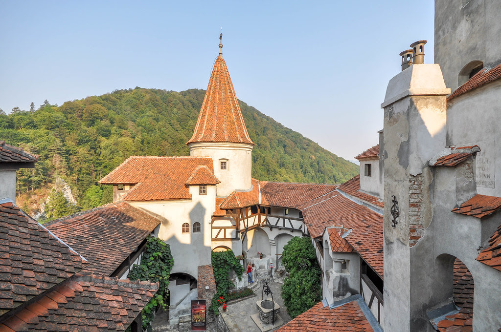 Bran Castle (Transylvania) linked to the Count Dracula legend