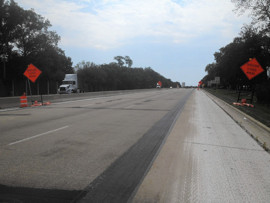 Route 83 road work on target for October completion